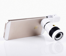 Mobile Phone Lens Universal 8X Zoom Telescope Camera Telephoto Lenses for iPhone 4 4S 5 5C 5S 6 Plus Samsung Galaxy S3 S5(China (Mainland))