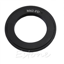 Buy M42 Screw Lens Canon FD Mount Adapter Ring AE-1 A-1 F-1 T50 T70 for $6.19 in AliExpress store