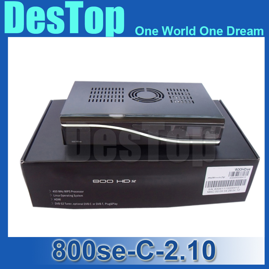 3pcs dm800 HD se with DVB-C tuner decoder DM800HD se 800se SIM2.10 800se Cable receiver 400 MHz linux system DHL free shipping(China (Mainland))