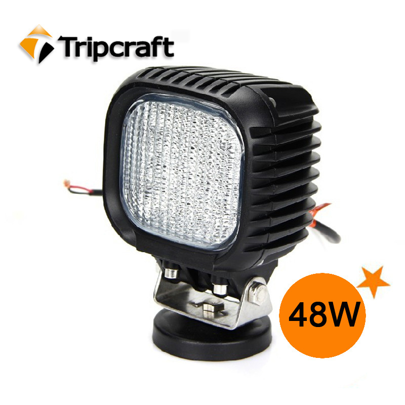 China supplier LED WORKING LIGHT CREE Auto 48w Led work light LED FLEXIBLE WORK LAMP(China (Mainland))