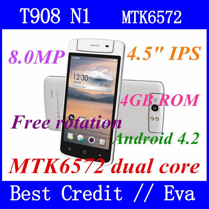 Мобильный телефон Star T908 512 4 MTK6572 4.5 inch IPS 3G GPS Android мобильный телефон jiayu s1 android 4 1 5 0 ips 13 600 apq8064t 1 7 2rom 32grom 3 g gps