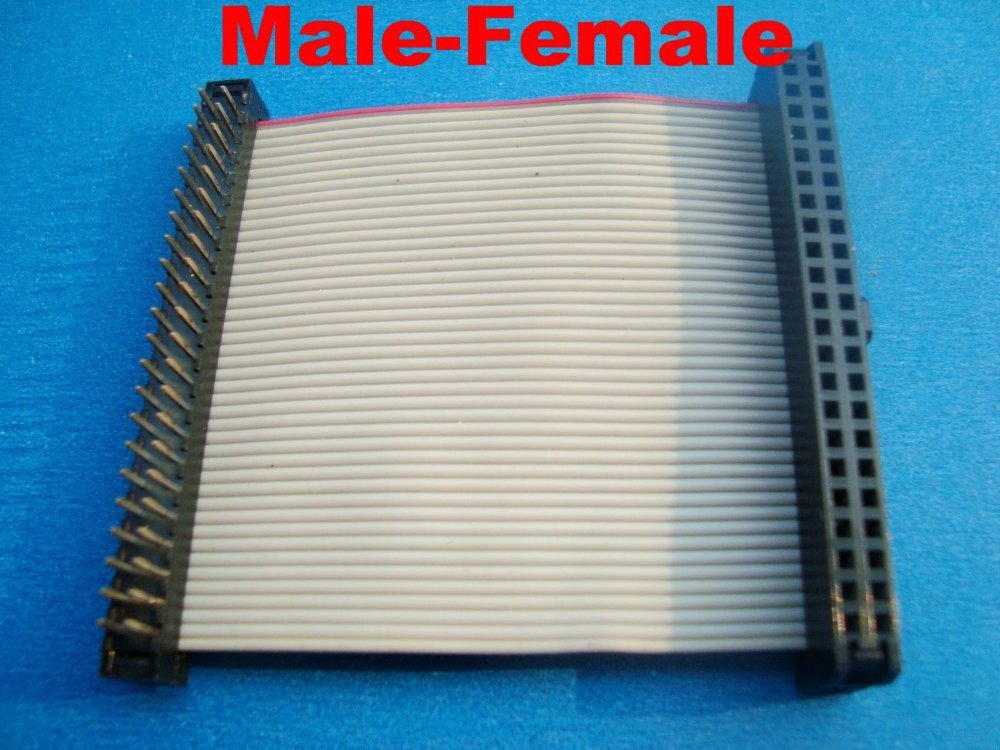 """freeshipping IDE 44Pin laptop 2.5"""" Female to male F/M Hard Drive connector Ribbon Cable(China (Mainland))"""
