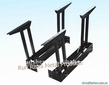 New folding and extendable dining table parts