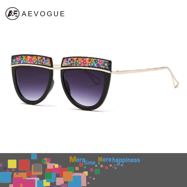 Женские солнцезащитные очки AEVOGUE UV400 AE0243 Oculos женские солнцезащитные очки aevogue uv400 ae0243 oculos