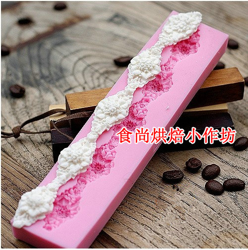 Cake Decorating Sugar Lace : Aliexpress.com : Buy silicone Sugar lace mat tools cameo ...