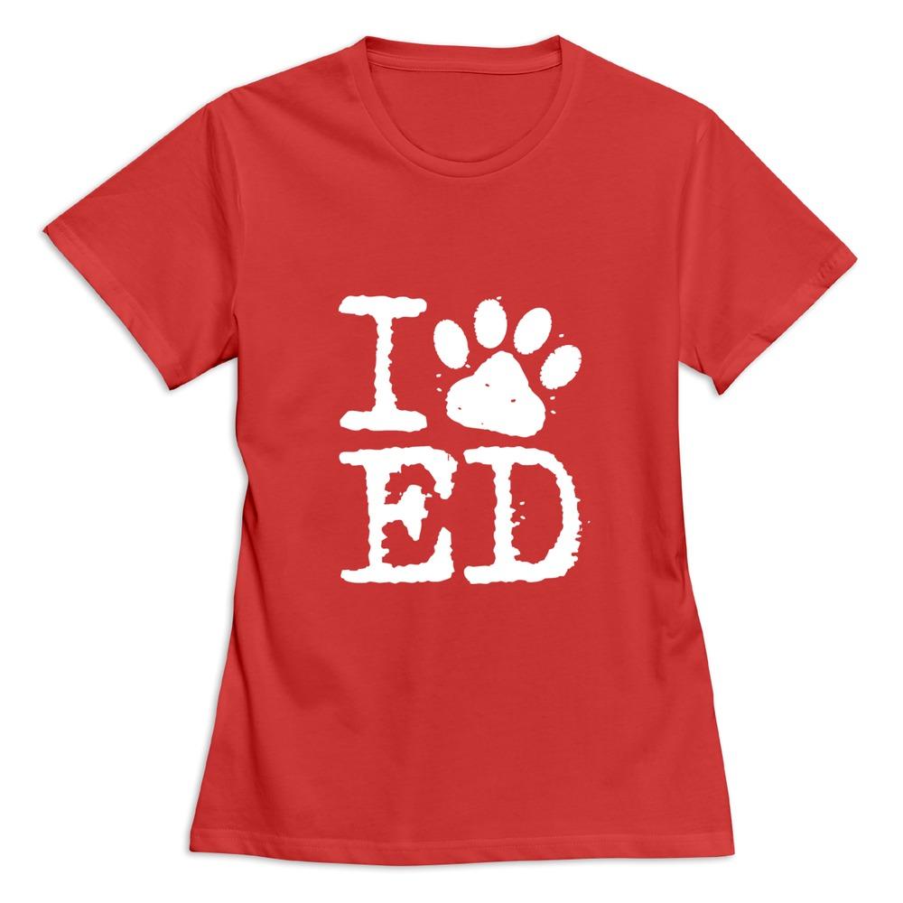 New 2015 i love ed sheeran women t shirt custom short for Custom t shirts for women