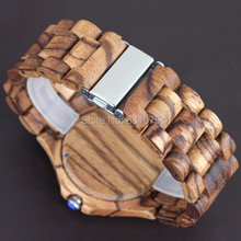 Men dress watch free shipping wooden watches BEWELL from china wholesale cheap price Japan 2115 Quartz