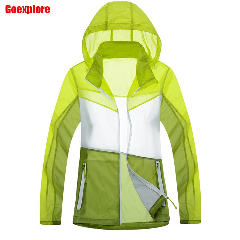 Dropshipping Women waterproof Skin jacket Outdoor Sun Protection Anti-UV Casual Top sunscreen coat light weight jackets