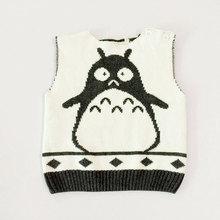 Retail  New 2016 autumn winter  Hot Children cartoon   swearter vest(China (Mainland))