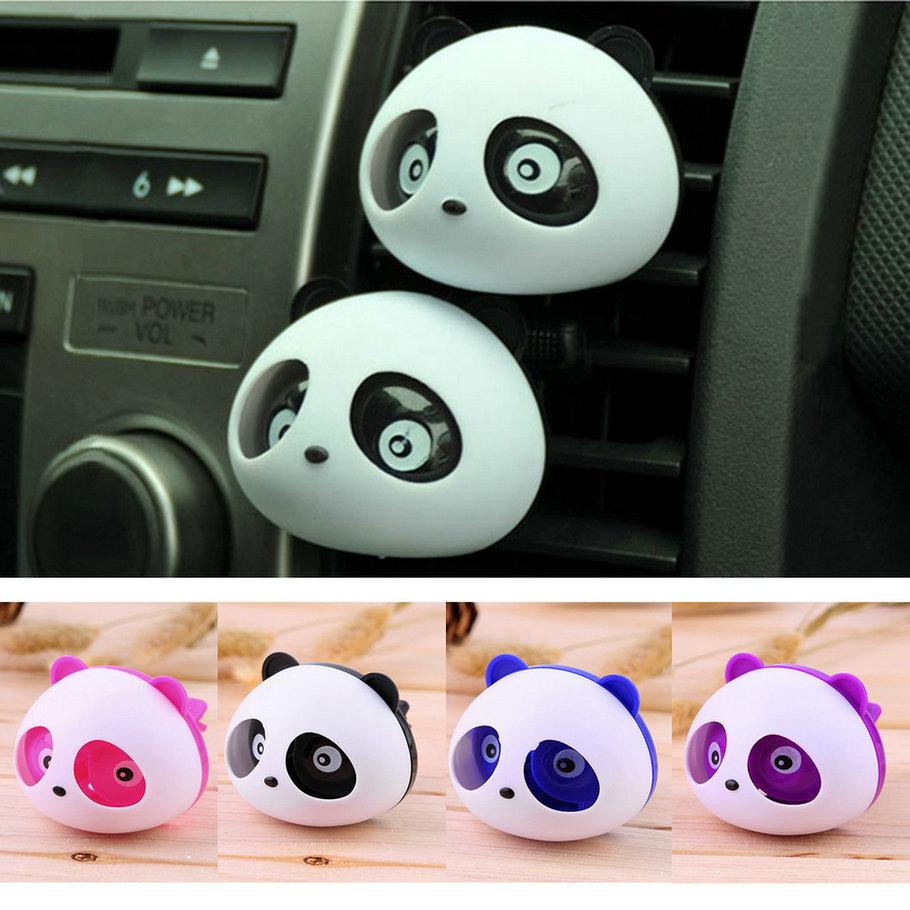 Hot Selling Car perfumes car air freshener perfumes 100 original car freshener parfume car styling Cute Panda Style(China (Mainland))