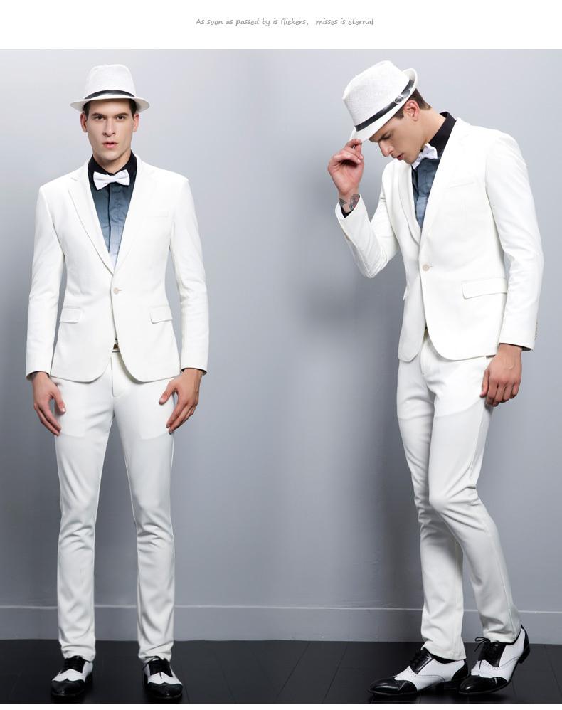 White Party Dresses For Men