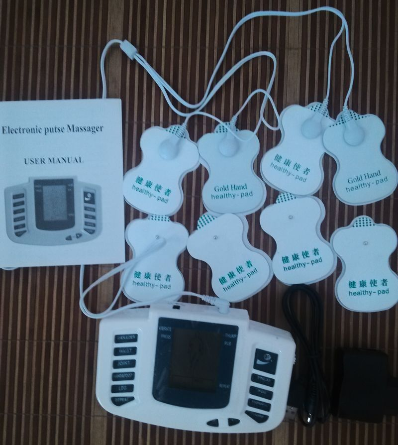 Health Care gift JR-309 Electronic pulse Stimulator Therapy Massager,Pulse tens Acupuncture +20 pcs Electrode pads  Health Care gift JR-309 Electronic pulse Stimulator Therapy Massager,Pulse tens Acupuncture +20 pcs Electrode pads  Health Care gift JR-309 Electronic pulse Stimulator Therapy Massager,Pulse tens Acupuncture +20 pcs Electrode pads