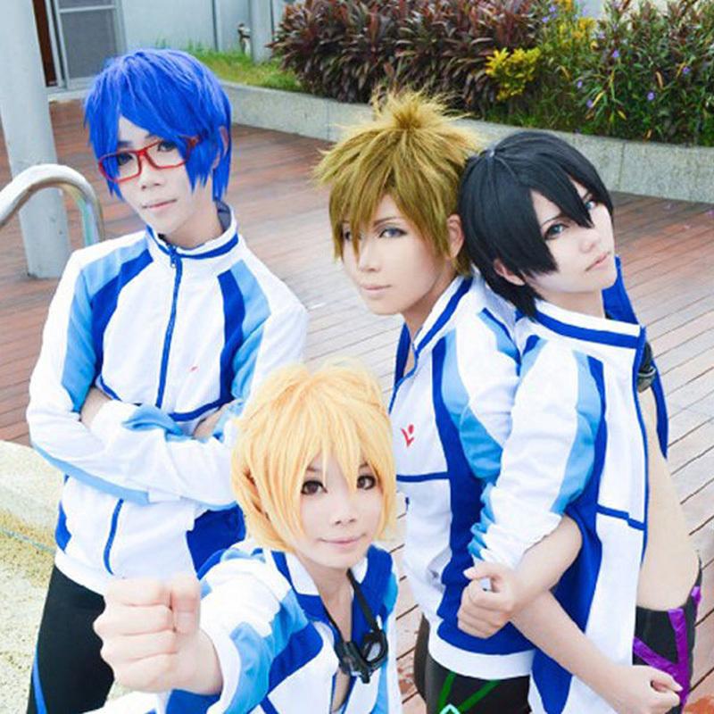 anime free iwatobi swim club haruka nanase cosplay