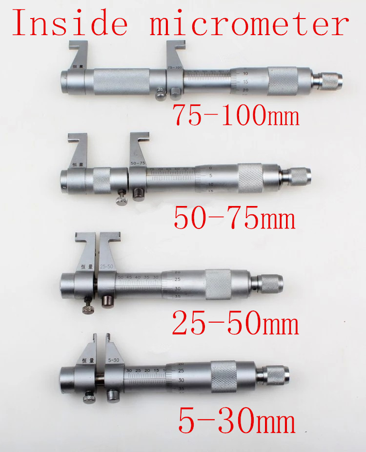 how to read inside micrometer in mm