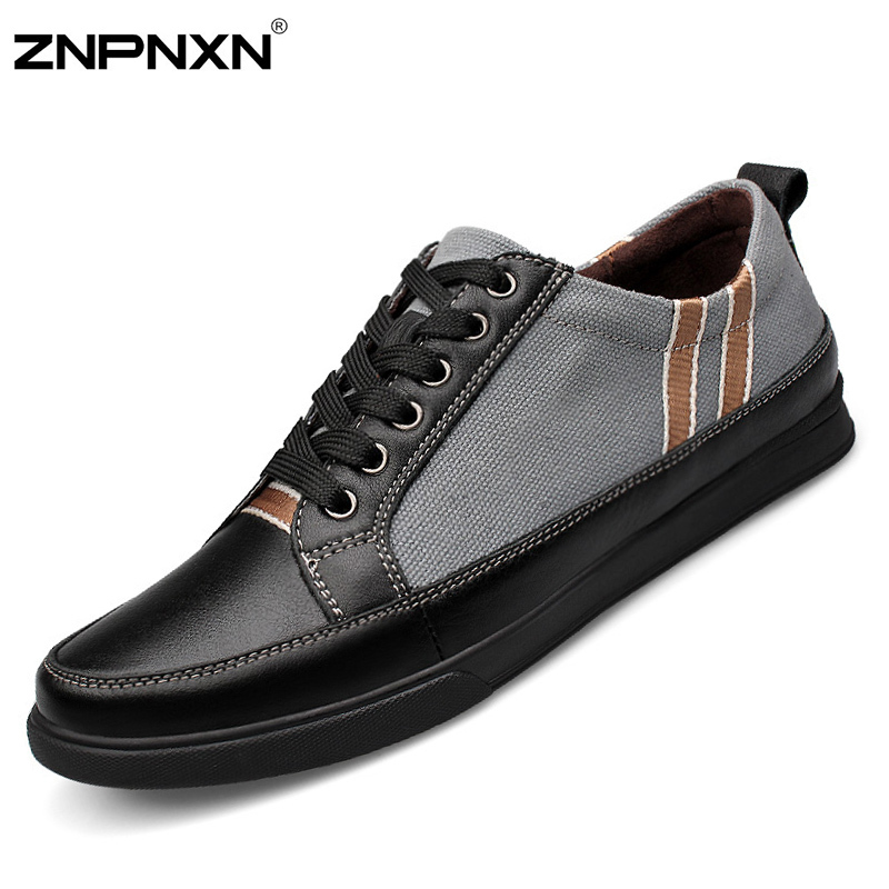 2015 Big Size 38-48 Mens Loafers Lace Up Shoes Men Canvas Sport Shoes Casual Loafers Zapatos Hombre Male Chaussures Sapatas