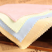 Glasses sunglasses camera lens cloth Microfiber cleaning cloth for iPhone iPad mobile phone glasses lens jewelry women cloth