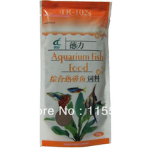 Keep healthy Min 46.4% Aquarium tropical strengthen viatmins and minerals fish food(China (Mainland))