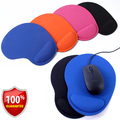 Optical Trackball PC Thicken Mouse Pad Support Wrist Comfort Mouse Pad Mat Mice Free Shipping For