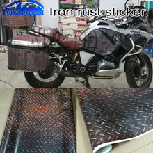 Buy Iron Rust Sticker Bomb Decal Vinyl Sheet Adhesive PVC Stickers Car Scooter Motorcycle Diy Film for $9.23 in AliExpress store