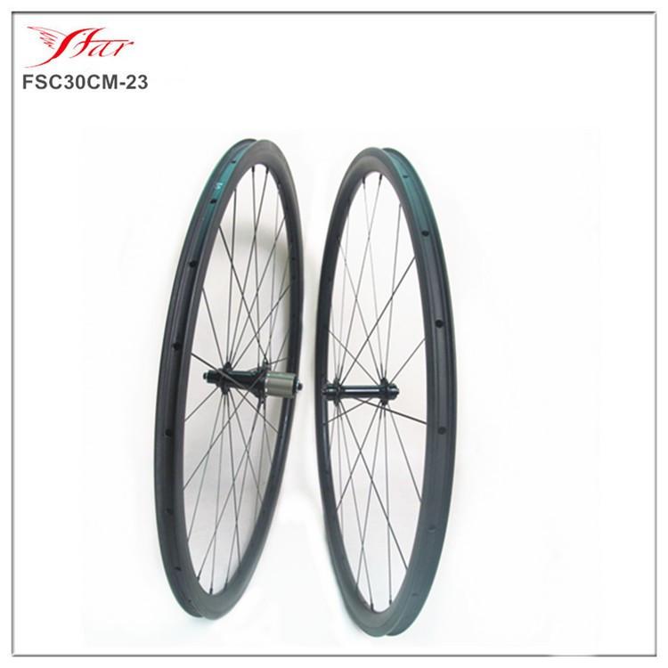 2015 New carbon clincher wheels 30mmx23mm road bike wheels 100% hand build racing wheels with Bitex hub 20H/24H Farsports<br><br>Aliexpress