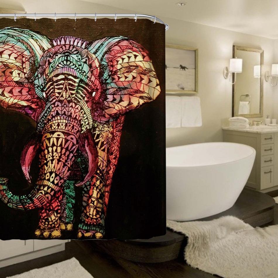 Hoge kwaliteit groothandel gordijn olifant van chinese gordijn ...
