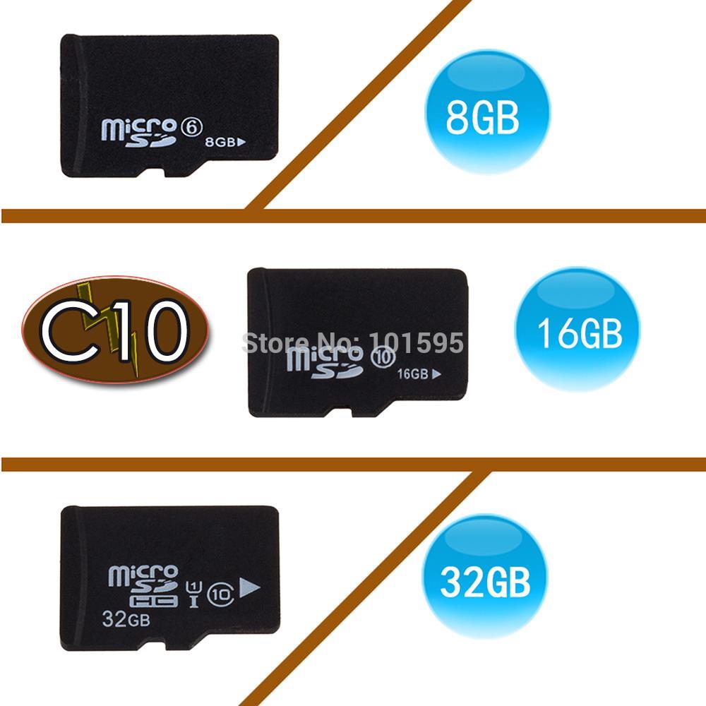 Good Real Capacity High Speed Microsd Compact Flash TF Memoey Micro sd Card 4GB 8GB 16GB 32GB 64GB CLASS 10  Free Shipping