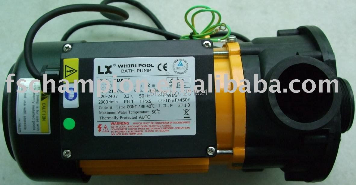 Whirlpool LX Spa hot tub bath Pump TDA75 LX TDA Circulation Pump For Canadian, AMC Winer Spa, Chinese Spas, Cascade, Spa Serve(Hong Kong)