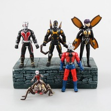 Ant Man 5 pcs/set 12 cm Pvc Action figure collection model toy toy