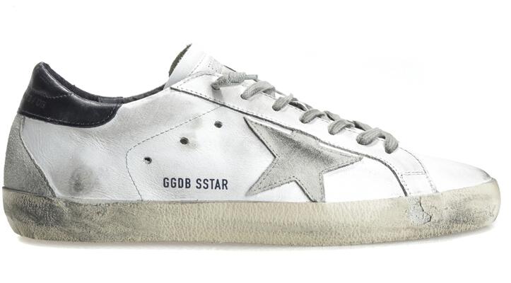 Marchio italiano da uomo golden goose scarpe casual cuoio genuino originale bianco comode scarpe da donna zapatillas mujer 2016 hogan scarpe uomo