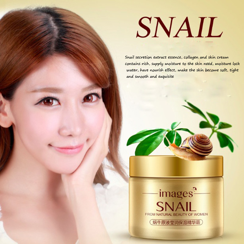 Snail Collagen Face Cream to Remove Dark Spots Acne Face Whitening Cream Removes Pigment Freckle Hyaluronic Acid Holika Holika(China (Mainland))