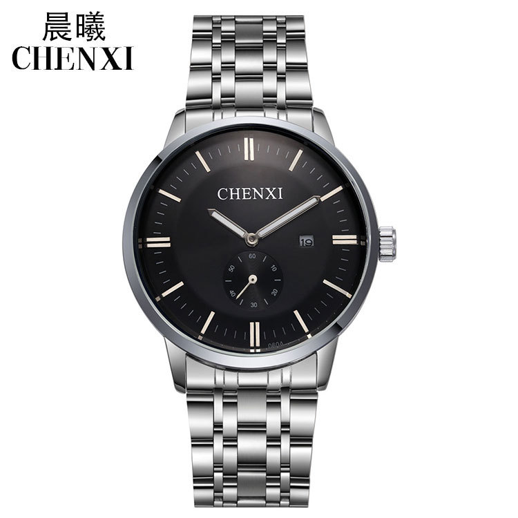 New Arrival CHENXI High Quality Fashion stainless steel Watch Luxury Men Wristwatch Montres Hommes 1piece/lot <br><br>Aliexpress