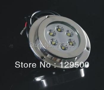 6*2W LED marine light/LED boat light/ LED underwater light Bar Shape Stainless Steel