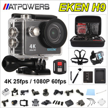 Action camera deportiva Original EKEN H9 / H9R remote Ultra HD 4K WiFi 1080P 60fps 2.0 LCD 170D pro sport waterproof go camera(China (Mainland))