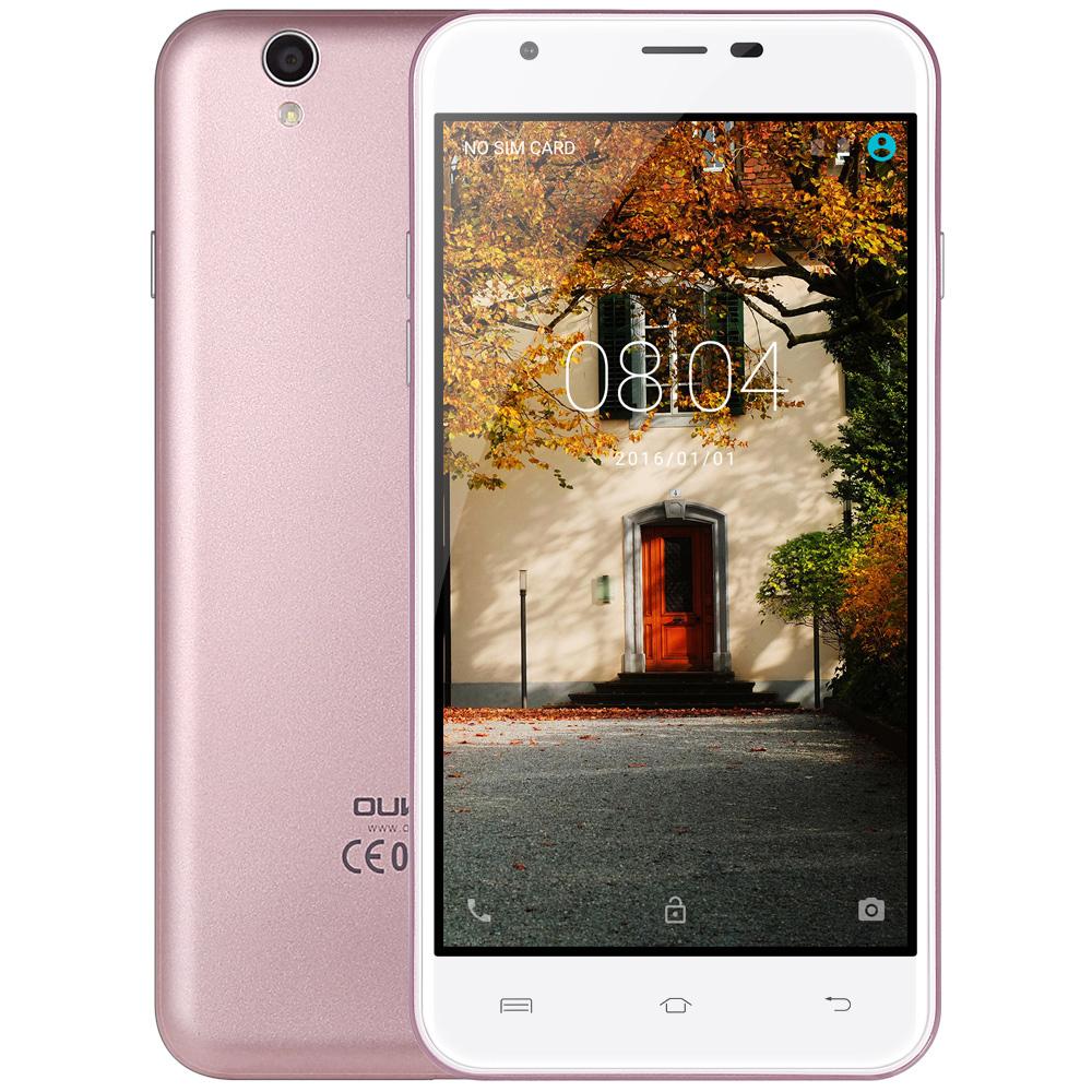 Original Oukitel U7 MAX 5.5 Inch Smartphone HD Screen MTK6580A Quad Core 1G+8G 8MP Camera 2500mAh 3G WCDMA Cellphone Stock