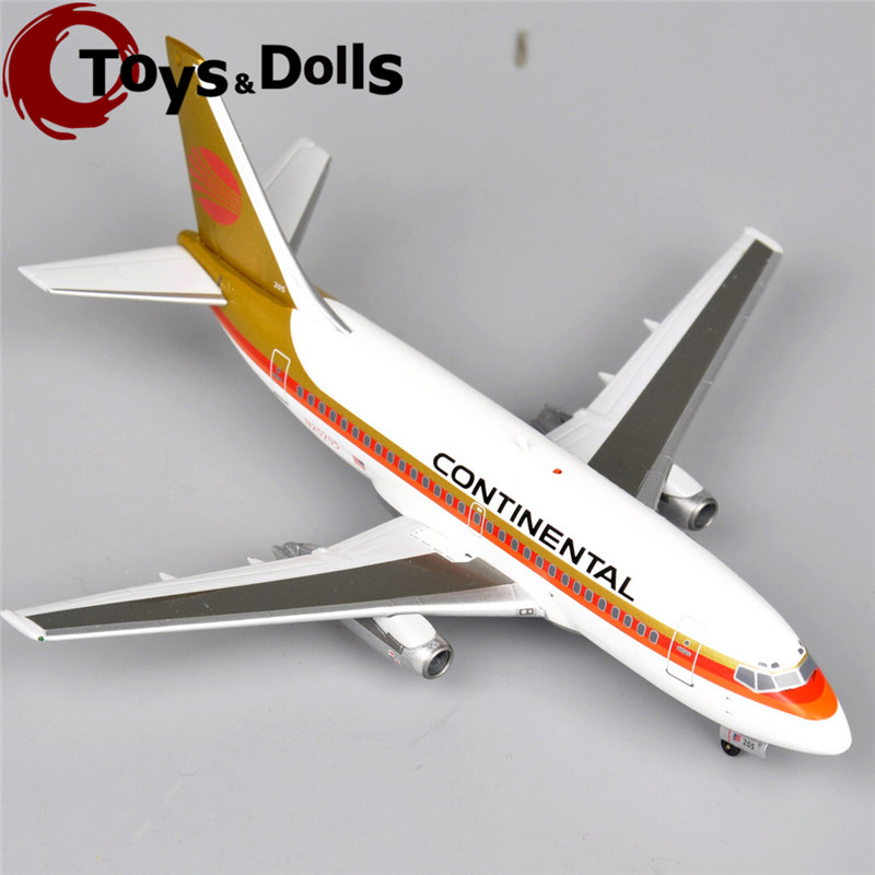 Inflight200 Limited Diecast Airplane Model 1:200 Scale Boeing 737-130 N20205 CONTINENTAL Airplane Model maquetas Kids Toys(China (Mainland))
