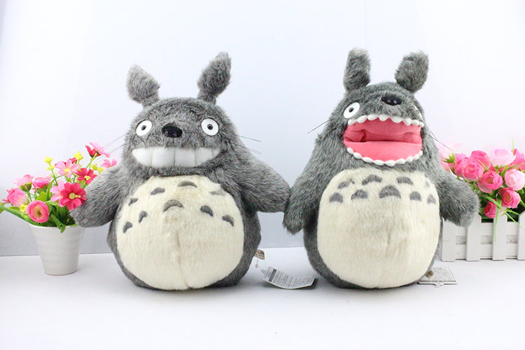 EMS 30PCS 12 30cm High Quality My Neighbor Totoro Plush Doll Toy Open Mouth and Close Mouth<br><br>Aliexpress