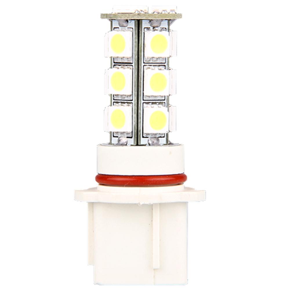 Qook 2pcs Car P13W Fog Driving DRL Lamp Bulbs 5050SMD White 18 LED Light 12V