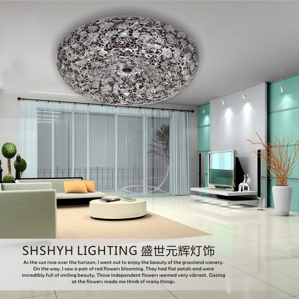Bohemia glass ceiling light kitchen lighting entrance lights balcony lamp modern brief lighting()