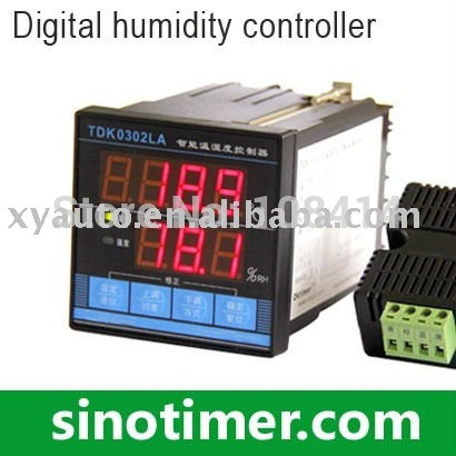 FREE shipping 1PCS Digital Temperature and Humidity Controller with sensor In Stocks