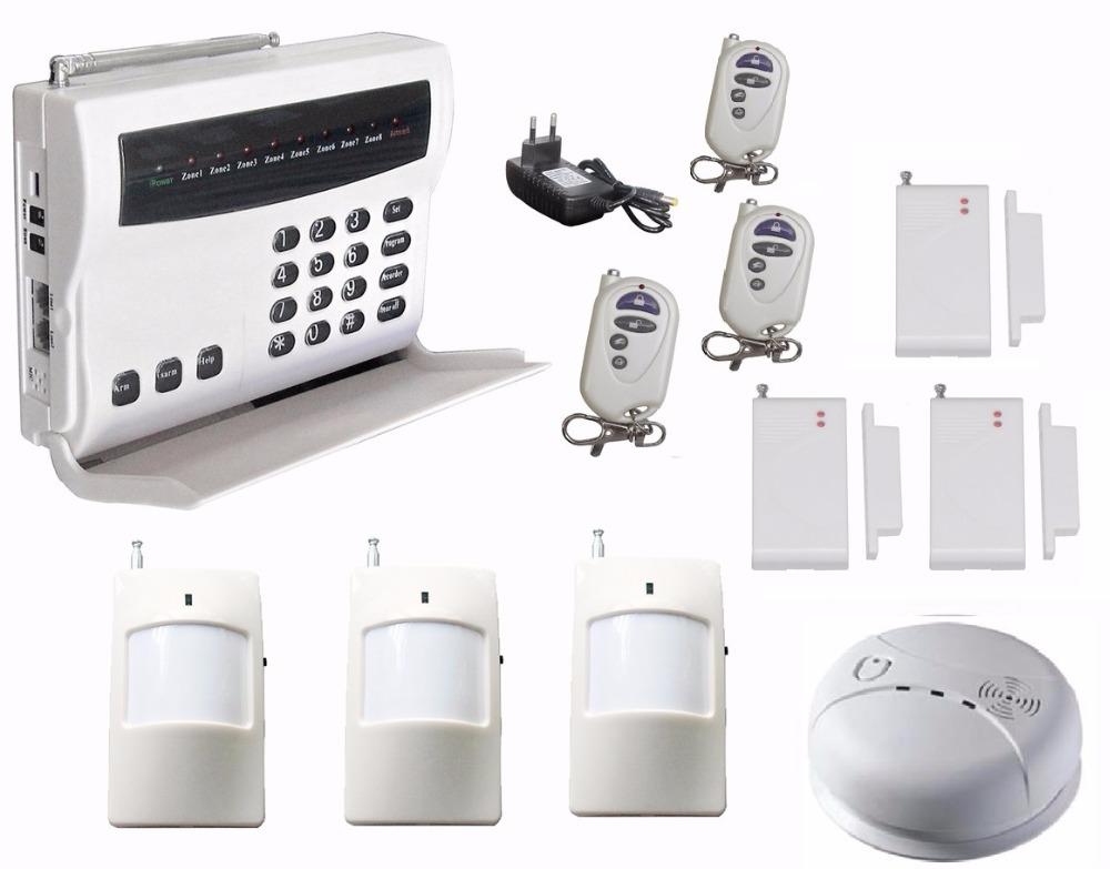 wireless burglar alarm system intruder alarm telephone safe alarm remote detector sensor house. Black Bedroom Furniture Sets. Home Design Ideas
