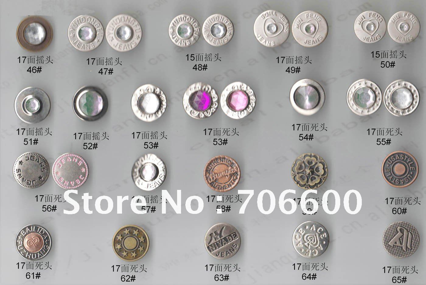 Jeans Buttons Suppliers Jeans Buttons,many Colors
