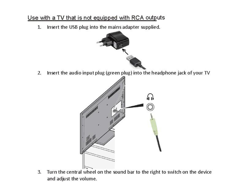ถูก ที่มีประสิทธิภาพUSB Sound Barแบบพกพาลำโพงสเตอริโอเสียงรอบทิศทางระบบโฮมเธียเตอร์สำหรับโทรศัพท์พีซีIPAD