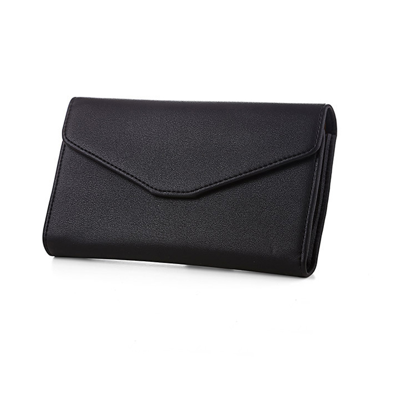 2016 New Arrival Women Envelope Clutch Wallet Purse PU Leather Hasp Fashion Design Wallet For Travelling Phone Money Bags(China (Mainland))