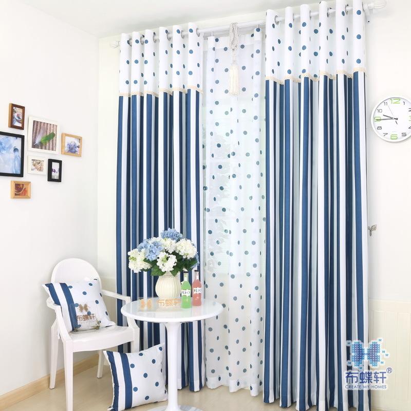 Beste Raambekleding Keuken : Bright Striped Window Curtains