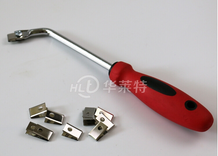 Buy PVC Floor Slotting Knife Manual Conner Grooving Knife Necking Tool With 10Pcs Blades cheap