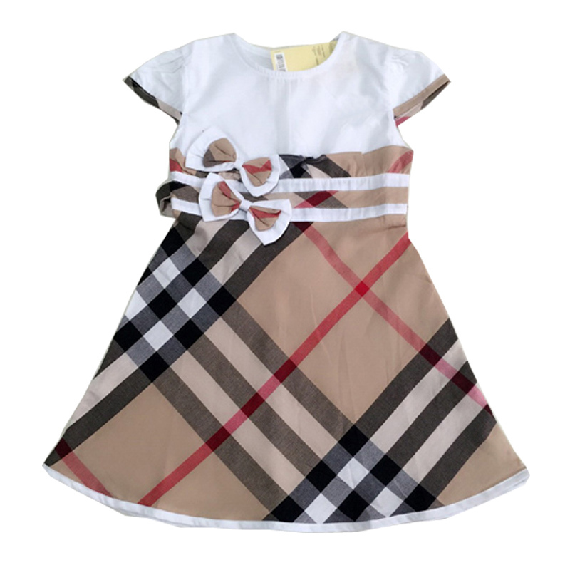 Hot sale baby dress name brand baby girl clothes quality guarantee vestidos summer style children clothing casual infant clothes(China (Mainland))