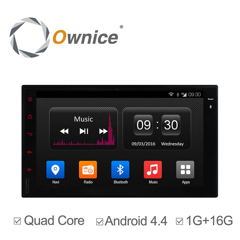 "Ownice 7"" Universal 2Din Car Multimedia Video Player 1024*600 Quad Core Android C300 GPS Navigation Full Touch Panel Without DVD(China (Mainland))"