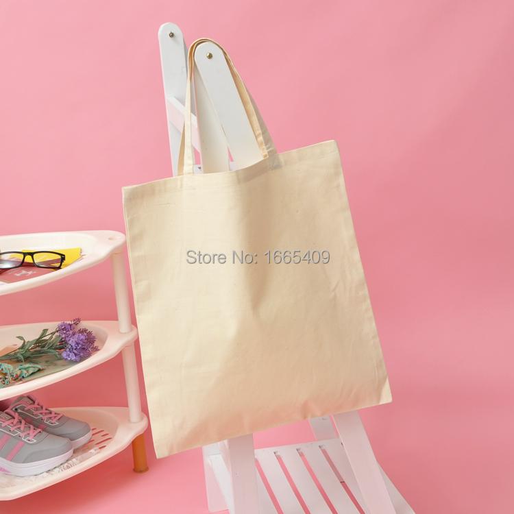 Natural cotton bags simple plain blank DIY, pure hand-painted Tote Shopping Bag(China (Mainland))