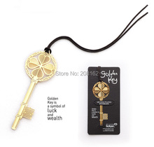 Golden Key Bookmarks 1pc Vintage Metal Bookmark Wedding Gifts Book Friend (Mix order is $10) ( mix order 10 usd )(China (Mainland))