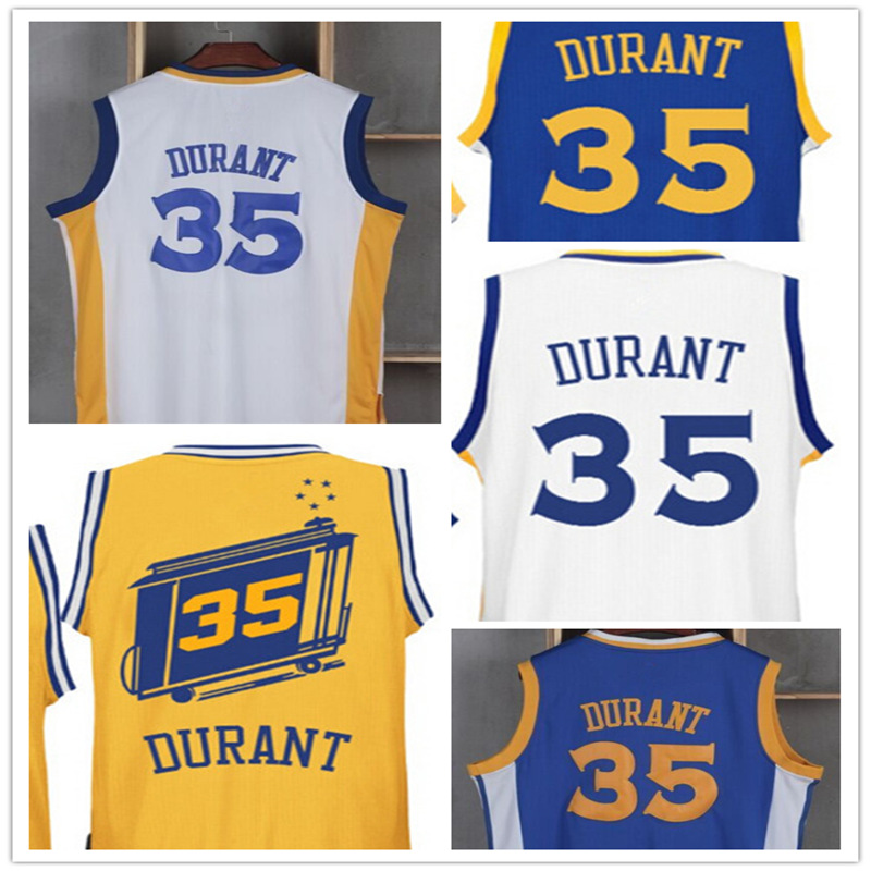 2016 new High Quality Mens #35 Kevin Durant Jersey Stitched Wholesale Basketball Jersey Free shipping(China (Mainland))
